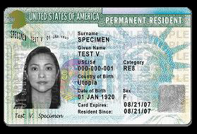 Green card official