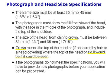 Best passport photo store in new york city canadian visa photo canadian temporary resident visa photo two of 35mm x 45mm chin to crown 31mm to 36mm thecheapjerseys Choice Image