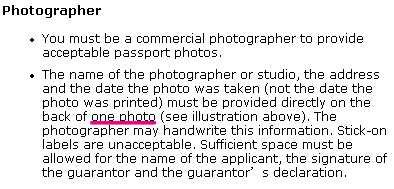 Best passport photo store in new york city please note that according to a consular officer of canadian consulate general of new york the stamp should be on the back of one photograph ccuart Choice Image