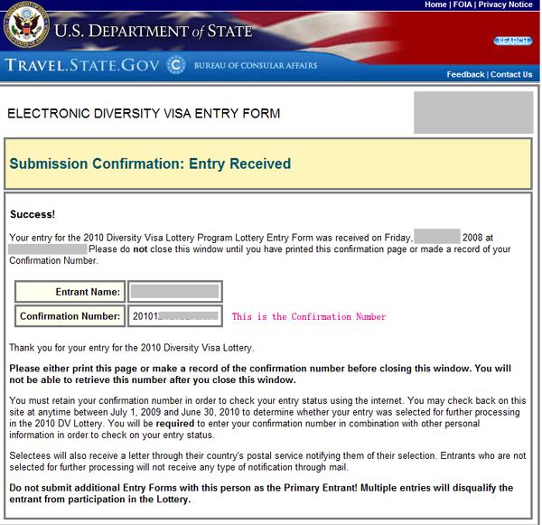 DV2014 US Green Card Lottery