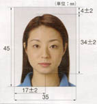 japanese passport photo, japan