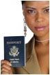 Passport photo, New York